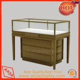 Conjunto portable de madera moderno de la venta al por mayor de la visualización de la joyería para los departamentos