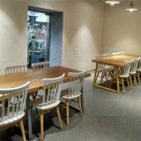 (SP-CS385) het Moderne Commerciële Skandinavische Meubilair van het Restaurant van de Koffie Uptop Houten