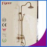 Grifo expuesto montado en la pared determinado de la ducha de la ducha antigua del baño de Fyeer