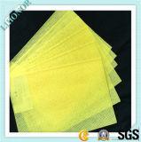 Tecido não tecido de Spunlace amarelo para Hunidifier