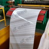 Лента белого покрытия цвета алюминиевая используемая для рекламы