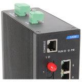 7 megabits Tx e interruptor de rede de um Fx Dinrail de 1 megabit