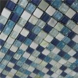 青いカラーさまざまな使用のプールのガラスモザイクブレンド