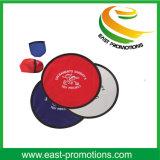 Frisbee se pliant en nylon en gros avec l'impression de logo