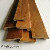Acessórios moldando de madeira do revestimento do nariz da escada do cheiro da escada/MDF