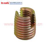 外のあや織りのが並ぶ挿入ナットが付いている側面Openningのセルフ・タッピングインプラント