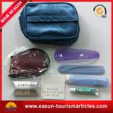 Amenità di linea aerea dell'hotel e kit all'ingrosso resi personale del viaggiatore