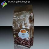Sac de empaquetage de café en plastique avec la poche comique de soupape avec la tirette