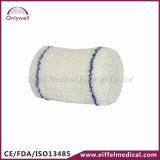 医学の救急処置の綿のクレープのゴムの包帯