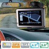 """4.3 """" 에서 대시 차 Moto 고전적인 휴대용 소형 항법 붙박이 Glonass GPS 모듈, FM 전송기, 주춤함 6.0 의 차 GPS 수신기 안테나 GPS 항해자 G-4301"""