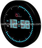 Reloj de pared ligero colorido del LED Dightal para la decoración casera