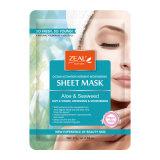 Zeal Aloe & Seaweed Deep Hydratante Facial Paper Mask 25g