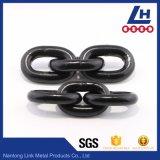 Catena di sollevamento materiale En818-2 del grado 80 dell'acciaio legato