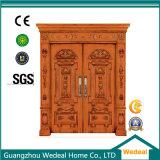 باب صلبة خشبيّة لأنّ غرفة داخليّة مع صنع وفقا لطلب الزّبون تصميم ([ودب2043])