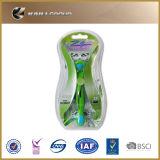 4 Schaufel-Systems-Rasiermesser mit Kassette