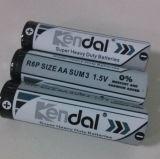 Hochleistungsbatterie 1.5V R6p AA des Shrink-4PCS