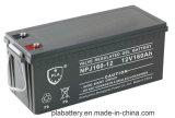 bateria do gel de 12V160ah VRLA para o sistema solar