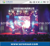 P1.25mm Ultrathin Small Pixel Pitch Stage Rental Display de LED interior