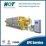 Filtre-presse à haute pression de membrane de PE