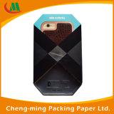 Коробка китайского случая телефона черноты качества роскошного изготовленный на заказ упаковывая бумажная