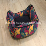 Tarnunglambskin-warmes weiches Haustier-Hundekatze-Bett-Sofa