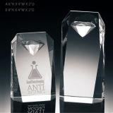 Médailles et trophées en cristal de luxe de récompense de tour de Canberra