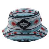 Крышка рыболовства шлема лета шлема ведра полиэфира изготовленный на заказ способа цветастая