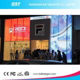 Transparente Bildschirmanzeige LED-P10 (LED-Bildschirm) mit hoher Helligkeit