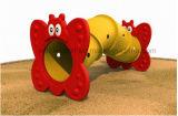 Пластмасса парка атракционов сада детей взбираясь Toys тоннель