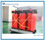 6kv-35kv тип трансформатор 3 участков сухой высоковольтного распределения силы малый