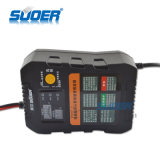 Lader van de Batterij van de Lader van Suoer de Intelligente Slimme Snelle 6V 12V Automatische met het Laden Wijze In drie stadia (A01-0612A)