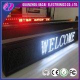 P10 impermeabilizan la muestra blanca del movimiento en sentido vertical LED del color