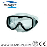 강화 유리 렌즈를 가진 주문 새로운 실리콘 잠수 가면