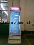 aufrechte Bildschirmanzeige-Gefriermaschine der einzelnen Glastür-600L