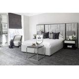 فرنسا جديدة تصميم أثاث لازم فندق غرفة نوم جانبا مادة جيّدة