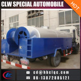 China Make 4mt Sewer Dredge Vehicle Draining Sewage Tank Truck