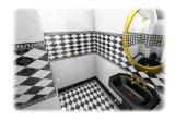 Azulejos negros de mármol negros de Marquina de los azulejos de suelo de Nero Marquina 40X40