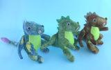 9.5inch badine le jouet 3 Asst. de dinosaur de cadeau de Noël