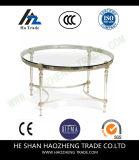 Таблица чая металла журнального стола Hzct081 Remi стеклянная