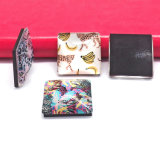 Hot Sale Wholesale Custom Transparent Glass Souvenir Craft Fridge Magnet