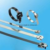 Dirigir a cinta plástica Releasable a mais barata &#160 do aço inoxidável do negócio;