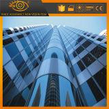Película decorativa do indicador do edifício da proteção UV antiofuscante