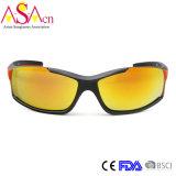 Designer de moda para homem Polarized Tr90 Óculos de sol (14356)