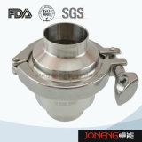 Tipo sanitario válvula de verificación (JN-NRV2001) de la abrazadera del acero inoxidable