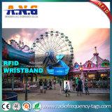 Farbenreicher geruchloser RFID gesponnener Wristband für Festlichkeit