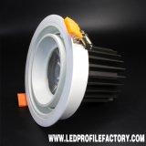 Td030 nella PANNOCCHIA dell'alloggiamento LED Downlight di Trimless Downlight di prezzi di fabbrica