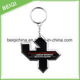 PVC 3D Keychain relativo à promoção do presente da alta qualidade