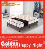 Materasso felice dell'inclusione della gomma piuma di notte della mobilia dorata di Foshan