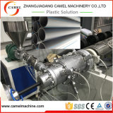 Cadena de producción del tubo del PE del estirador de solo tornillo para el tubo de agua