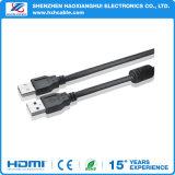 보편적인 USB 연장 케이블 데이터 Sync 코드 케이블 접합기 연결관